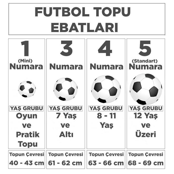 Spt Unisex Beyaz Futsal Topu SPT-25840-SP 1281720