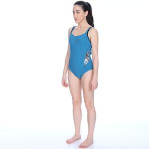 Arianna Strap Back One Piece Kadın Mavi Mayo 001828412