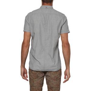 Cut Back Erkek Kısa Kollu Gri Gömlek 501332-8730
