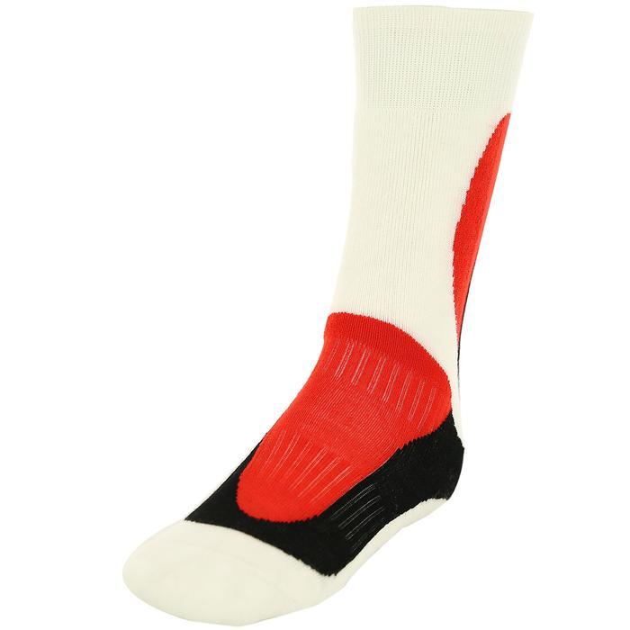 Çocuk Beyaz-Kirmizi-Siyah Garson Çorap 137720-001 531292