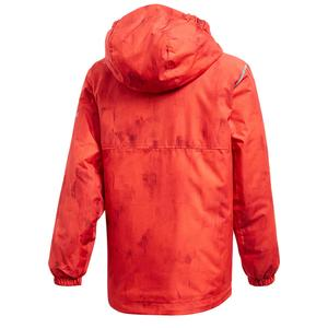 Bg Li Çocuk Kırmızı Kapüşonlu Outdoor Mont CY8895