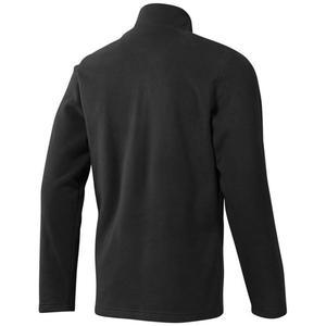 Od Flc Q Zip Erkek Siyah Polar Sweatshirt D78637