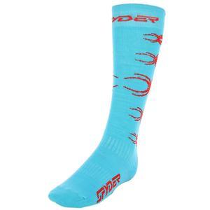 Çocuk Açik Mavi Uzun Çorap 137722-421