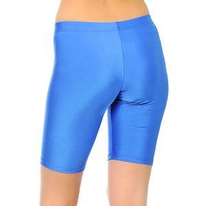Kadın Mavi Günlük Stil Biker Tayt 6039501