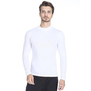 Erkek Beyaz Uzun Kollu Boğazlı İçlik 0656510
