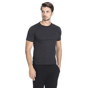Basic Erkek Siyah Günlük Stil Tişört 060020021S01