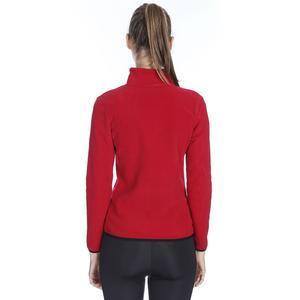 Spo-Polarhalfwom Kadın Kırmızı Günlük Stil Polar 710081-00C-SP