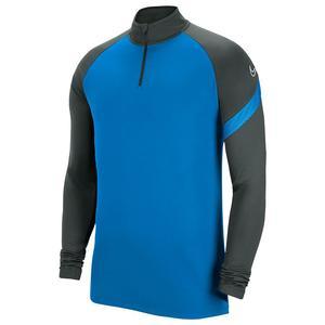 Dry-Fit Academy Erkek Mavi Uzun Kollu Futbol Tişört BV6916-406