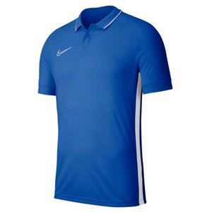 Dry Academy Erkek Mavi Futbol Polo Tişört BQ1496-463