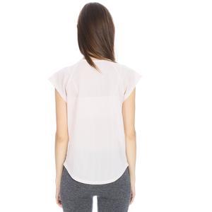 Kestoday Kadın Beyaz Koşu Tişört 710608-NDE