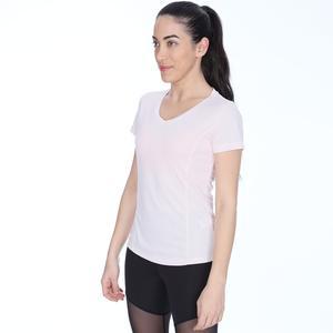 Polkestop Kadın Pembe Koşu Tişört 710193-NDE