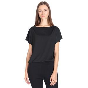Polcrop Kadın Siyah Koşu Tişört 710726-SYH