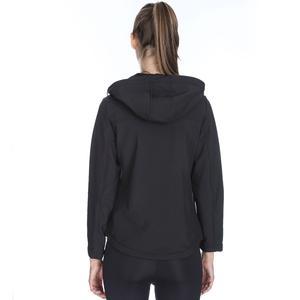 Kadın Siyah Kapüşonlu Outdoor Mont 710755-SYH