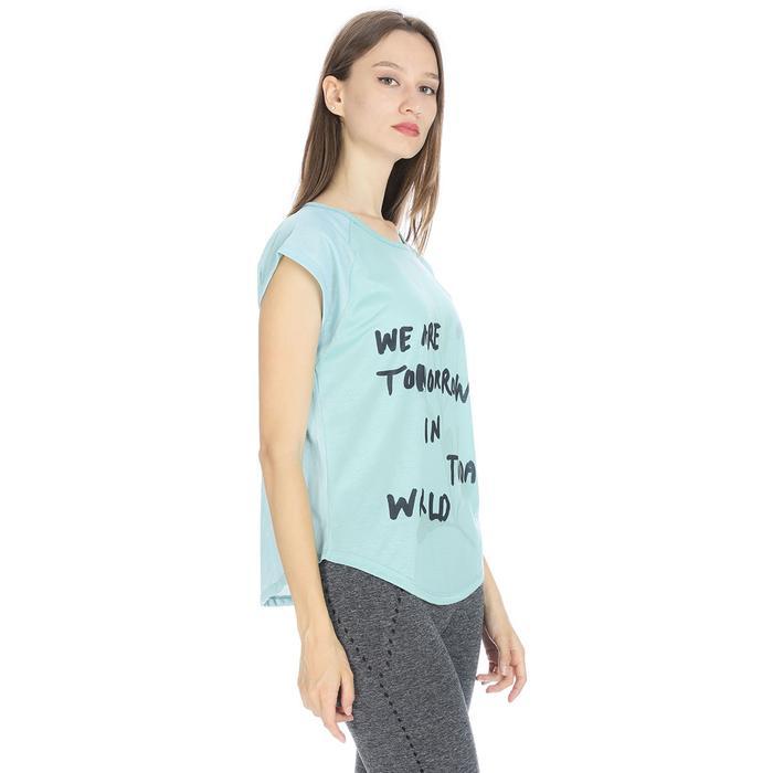 Kestoday Kadın Mavi Koşu Tişört 710608-BRN 1063807