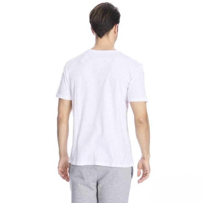 Flafill Erkek Beyaz Koşu Tişört 710513-00W 1063479
