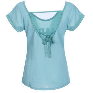 Keslook Kadın Mavi Koşu Tişört 710605-BRN