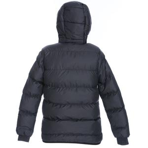 Çocuk Siyah Kapüşonlu Outdoor Mont B10007-SYH