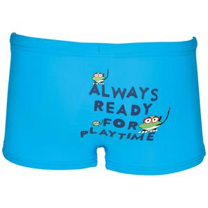 Water Tribe Çocuk Baskılı Mavi Yüzme Slip Mayo 1B46980