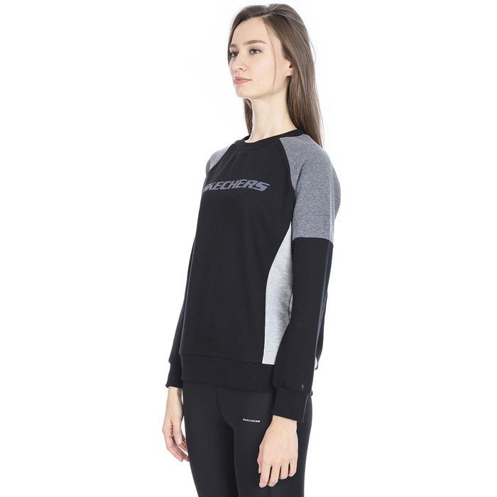 LFleece CreNeck Kadın Siyah Günlük Stil Sweatshirt S192083-001 1149417