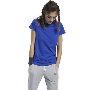 Workout Comm Kadın Mavi Günlük Tişört FQ6640