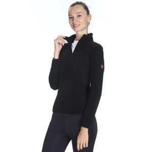 Spo-Polarhalfwom Kadın Siyah Günlük Stil Polar 710081-00B-SP