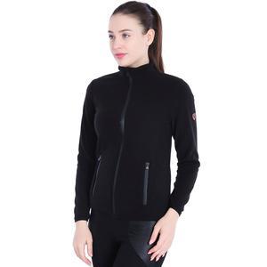 Spo-Polarwom Kadın Siyah Günlük Stil Polar 710080-00B-SP