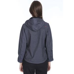 Kadın Siyah Kapüşonlu Outdoor Mont M100058-SYH