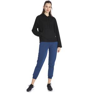 Kadın Siyah Kapüşönlü Sweatshirt 711015-SYH