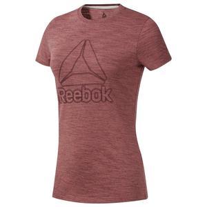 TE Marble Kadın Bordo Günlük Stil Tişört DY8136