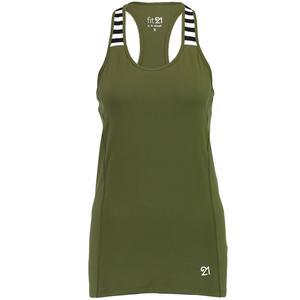 Tank Kadın Haki Antrenman Atleti WTK1S10