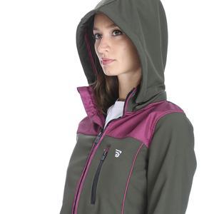 Kadın Haki Kapüşonlu Outdoor Mont 710437-FMR