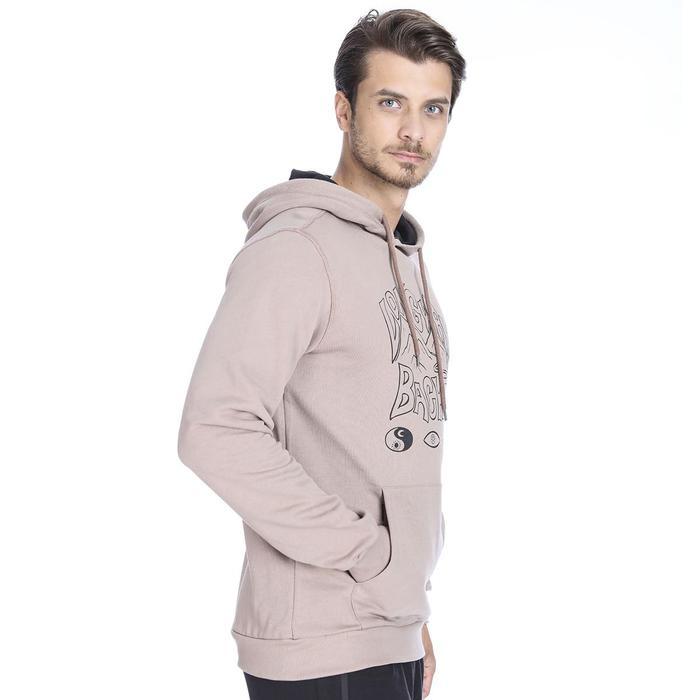 Swelong Erkek Bej Koşu Sweatshirt 710415-MCH 1036786
