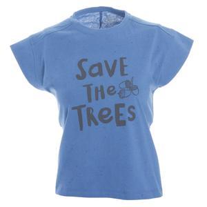 Girlnoptee Çocuk Koşu Tişört G10003-PTR