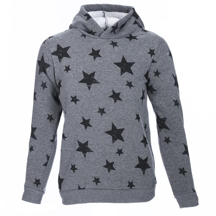 Girlswestar Çocuk Gri Koşu Sweatshirt G10001-AML 1111710