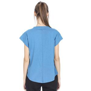 Noptree Kadın Mavi Koşu Tişört 710725-PTR
