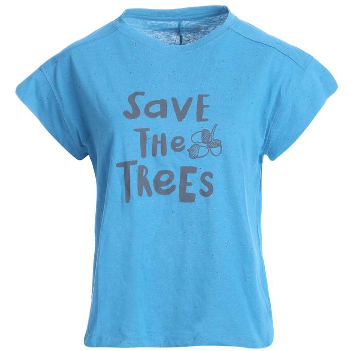 Noptree Kadın Mavi Koşu Tişört 710725-PTR 1093008