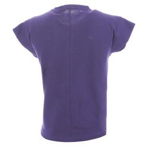 Girlnoptee Çocuk Koşu Tişört G10003-MOR