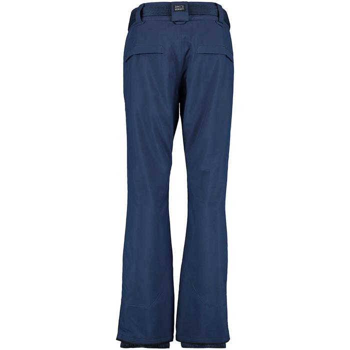 Star Kadın Kemerli Lacivert Kayak Pantolon 658020-5032 913054