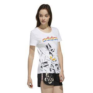 Farm P Tshirt Kadın Beyaz Günlük Stil Tişört EI4828