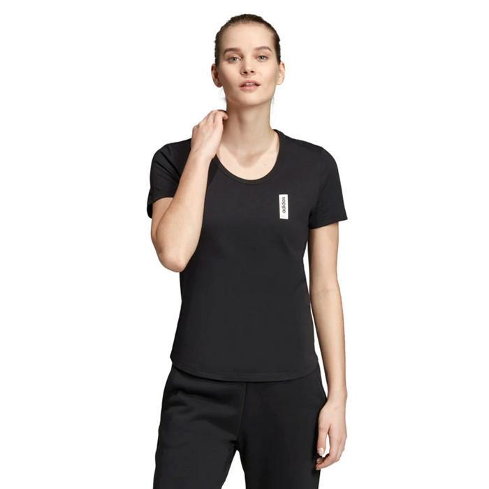 Brilliant Basic Kadın Siyah Günlük Tişört EI4633 1177241