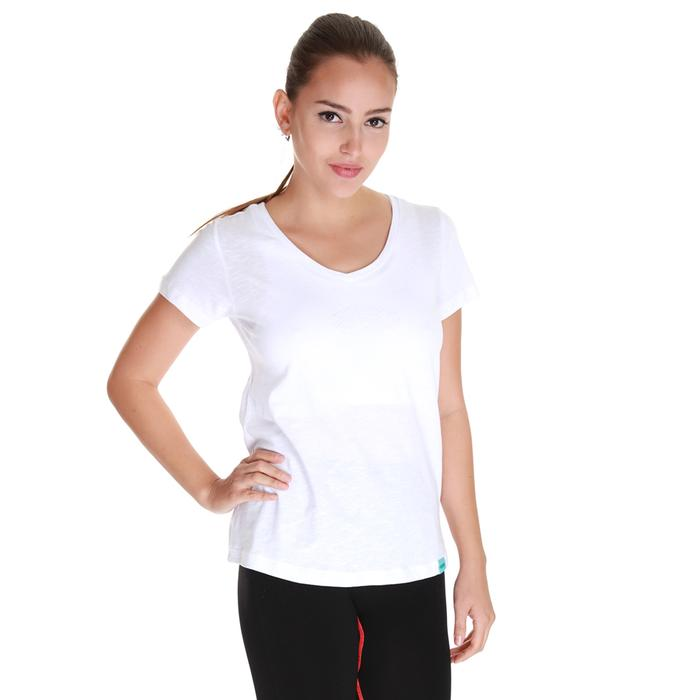 Spo-Flakestop Kadın Beyaz Günlük Stil Tişört 610003-00W-SP 1277885