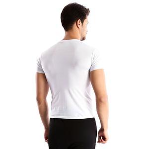 Basic Erkek Beyaz Günlük Stil Tişört 060020021By6