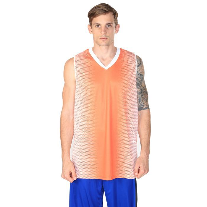 Bengal Erkek Turuncu V Yaka Basketbol Forma 201420-0TB 636411