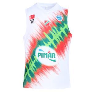 Pınar Karşıyaka Beyaz Basketbol Forması KY2019-001