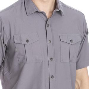 Spo-Safkisshirt Erkek Gri Koşu Gömlek 710116-00B-SP