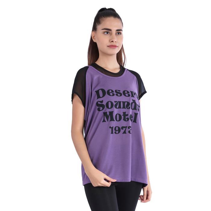 Kestulert Kadın Mor Koşu Tişört 710433-Plb 1036855