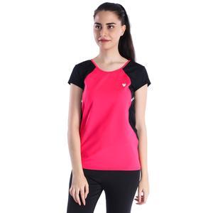 Miksupwom Kadın Pembe Koşu Tişört 710470-MGB