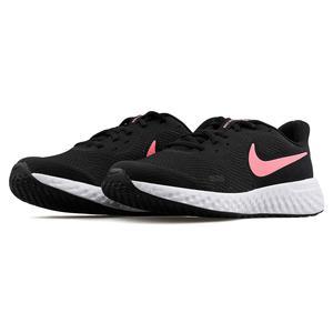 Revolution 5 (Gs) Unisex Siyah-Pembe Koşu Ayakkabısı BQ5671-002