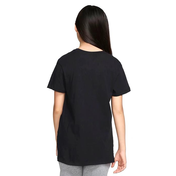 Basic Futura Çocuk Siyah Günlük Stil Tişört AR5088-010 1121139