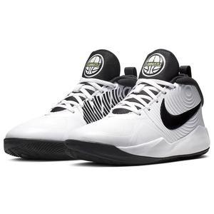 Team Hustle D 9 (Gs) Unisex Beyaz Basketbol Ayakkabısı AQ4224-100